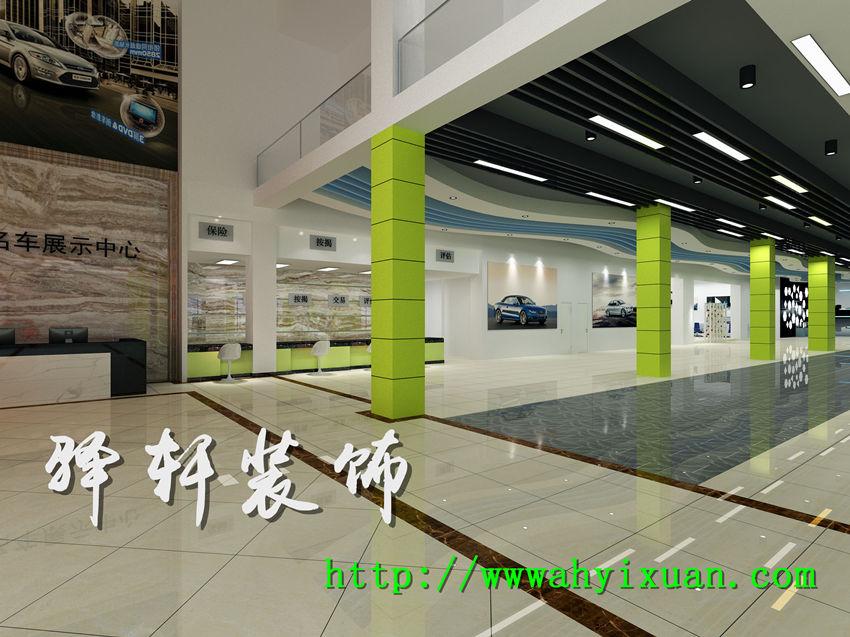 【汽车展厅】星之联汽车展厅效果图